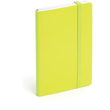 Poppin Lime Green Small Soft Cover Notebook, Set of 2