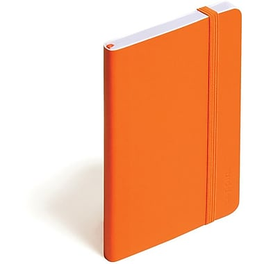 Poppin Orange Small Soft Cover Notebook, Set of 2