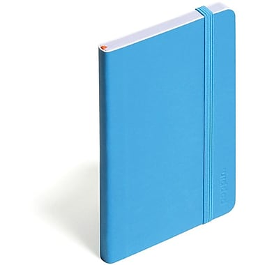 Poppin Pool Blue Small Soft Cover Notebook, Set of 2
