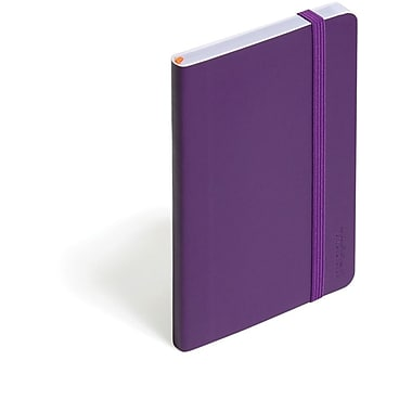 Poppin Purple Small Soft Cover Notebook, Set of 2