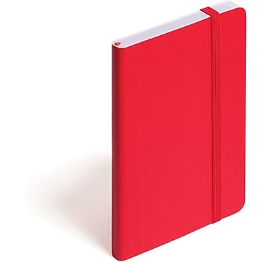 Poppin Red Small Soft Cover Notebook, Set of 2