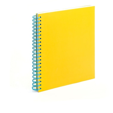 Poppin Citrus Large Spiral Notebook