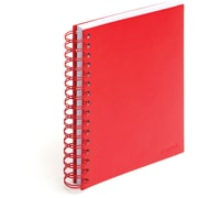 Poppin Red Medium Spiral Notebook, Set of 2