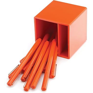 Poppin Orange Signature Ballpoint Set