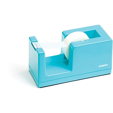 Poppin Tape Dispenser, Aqua, (100170)