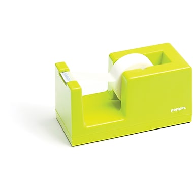 Poppin Lime Green Tape  Dispenser