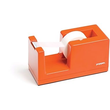 Poppin Orange Tape Dispenser