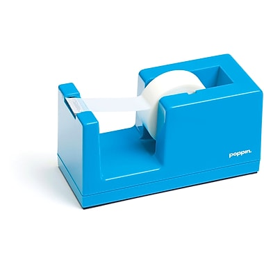 Poppin Pool Blue Tape Dispenser