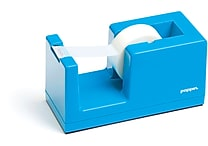 Poppin Tape Dispenser, Pool Blue, (100168)