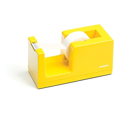 Poppin Yellow Tape Dispenser