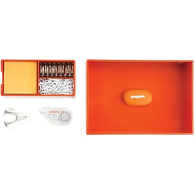Poppin Orange Top Drawer Set