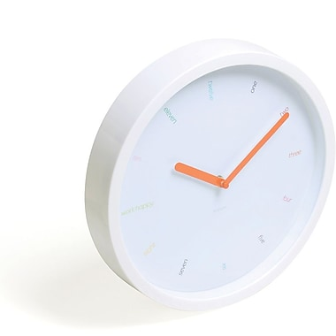 Poppin White Wall Clock