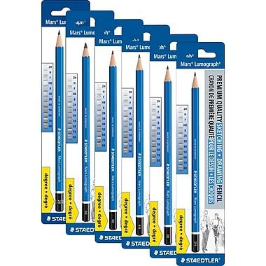 Staedtler-Mars® - Crayons à dessin Lumograph