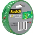 Scotch® Expressions Masking Tape, Striped Triangle Pattern, 1in. x 20 yds