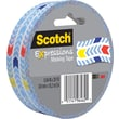 Scotch® Expressions Masking Tape, Arrows, 1in. x 20 yds
