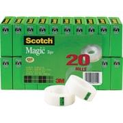 Scotch® 810  Magic™ Tape Refill Rolls <em>Bonus Pack</em>, 3/4 x 27.7 yds, 1 Core, 20/Pack