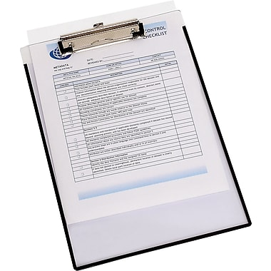 Wilson Jones® Clearview Insert Clipboard, 8-13/16