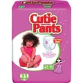 Cuties Training Pants, Girl 3T-4T, 92/Case