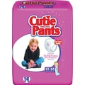 Cuties Training Pants, Girl 4T-5T, 76/Case
