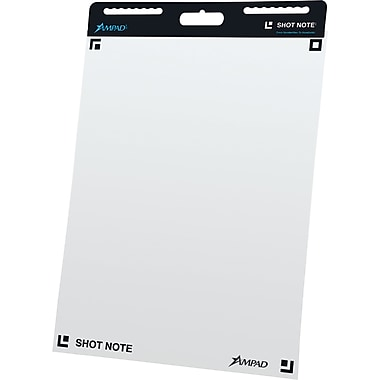 Ampad® Shot Note® Self-Adhesive Easel Pads