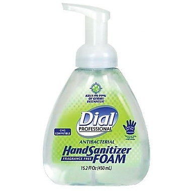 Dial Foaming Hand Sanitizer, 15.2 oz.
