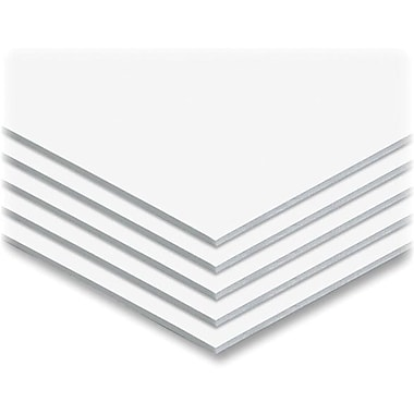 Elmer's Sturdy Foam Board 40in. x 30in. White Foam Board Surface, 25/Carton