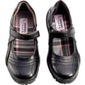 French Toast Girls Self-Close Strap Active Shoes, Black