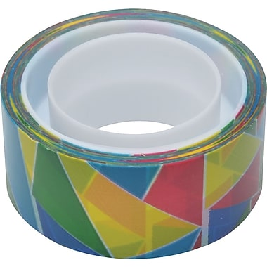 Scotch® Expressions Magic™ Tape, Stained Glass Pattern, 3/4in. x 300in.