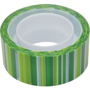 Scotch® Expressions Magic™ Tape,  Green Lines Pattern, 3/4 x 300