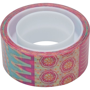 Scotch® Expressions Magic™ Tape,  Circus Pattern, 3/4in. x 300in.