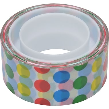 Scotch® Expressions Magic™ Tape, Dots Pattern, 3/4