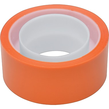Scotch® Expressions Tape, Orange, Removable, 3/4in.x 300in.