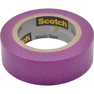 Scotch® – Ruban Expressions Washi, 15 mm x 10 m, jaune