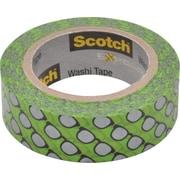 "Scotch® Expressions Washi Tape, Silver Glasses, 3/5"" x 393"""