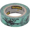Scotch® Expressions Washi Tape, Airplane, 3/5in. x 393in.