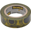 Scotch® Expressions Washi Tape, Sunflowers, 3/5in. x 393in.