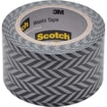Scotch® Expressions Washi Tape, Zig Zag Pattern, 1 3/16in. x 393in.
