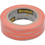 "Scotch® Expressions Washi Tape, Bubble Dots, 3/5"" x 393"""