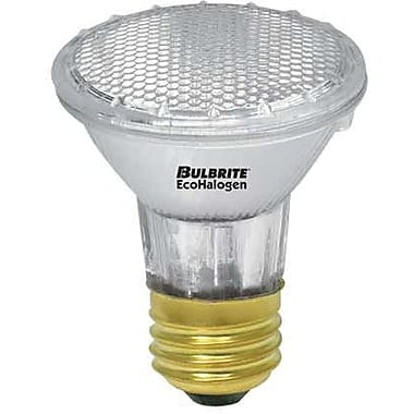 39 Watt Bulbrite® PAR20 Dimmable EcoHalogen Halogen Flood Bulb (4-Pack), Warm White