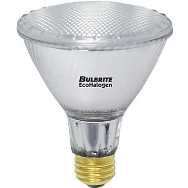 60 Watt Bulbrite® PAR30 Dimmable EcoHalogen Warm White Halogen Flood Bulbs