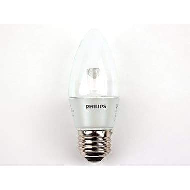 3.5 Watt Philips Torpedo B11 Dimmable LED Decorative Bulb (Each), Warm White