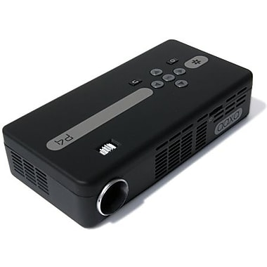 Aaxa p4x pico pocket projector 800x480 wvga 125 lumens for Highest lumen pocket projector
