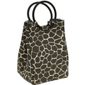 Fit & Fresh Retro Insulated Designer Lunch Bag with Ice Pack -Giraffe