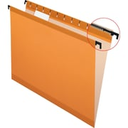 Pendaflex® SureHook® Reinforced Hanging File Folders, Orange, Letter Size, 20/Bx