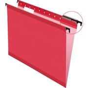 Pendaflex® SureHook® Reinforced Hanging File Folders, Red, Letter Size, 20/Bx