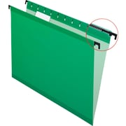 Pendaflex® SureHook® Reinforced Hanging File Folders, Bright Green, Letter Size, 20/Bx