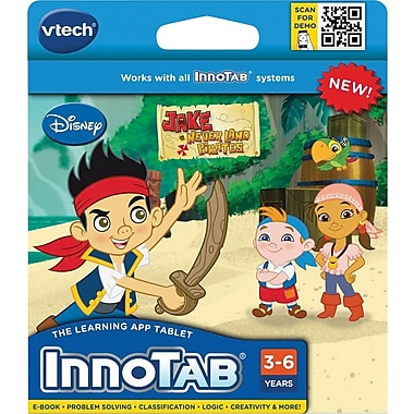 VTech® InnoTab Software Cartridge: Jake & the Neverland Pirates, English