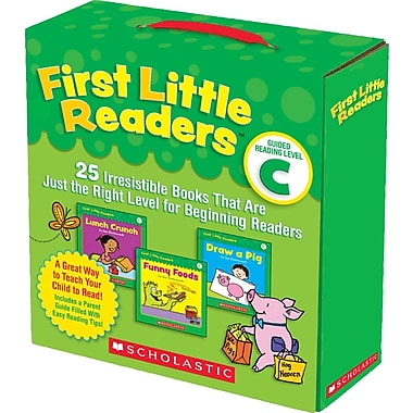 Scholastic First Little Readers Guided Reading Level C: 25 Irresistible Books