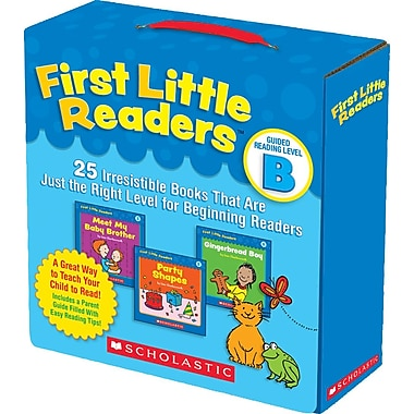 Scholastic First Little Readers Guided Reading Level B: 25 Irresistible Books