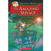 Geronimo Stilton – Special Edition The Amazing Voyage, The Third Adventure in the Kingdom of Fantasy (livre anglais)